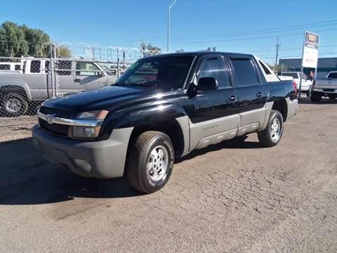 2002 Chevrolet Avalanche for sale at Advantage Motorsports Plus in Phoenix AZ