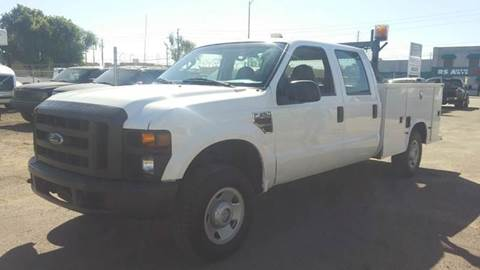 2008 Ford F-250 for sale at Advantage Motorsports Plus in Phoenix AZ
