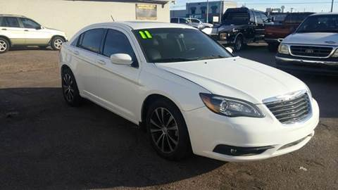 2012 Chrysler 200 for sale at Advantage Motorsports Plus in Phoenix AZ