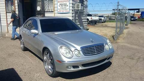 2004 Mercedes-Benz E-Class for sale at Advantage Motorsports Plus in Phoenix AZ