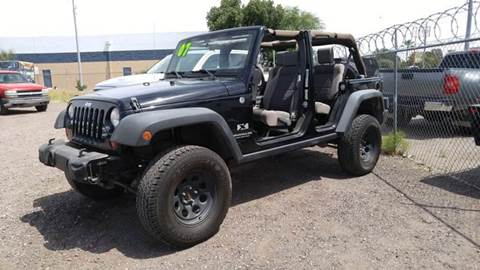 2007 Jeep Wrangler Unlimited for sale at Advantage Motorsports Plus in Phoenix AZ