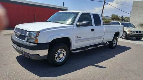 2003 Chevrolet Silverado 2500HD for sale at Advantage Motorsports Plus in Phoenix AZ