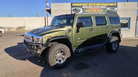 2003 HUMMER H2 for sale at Advantage Motorsports Plus in Phoenix AZ