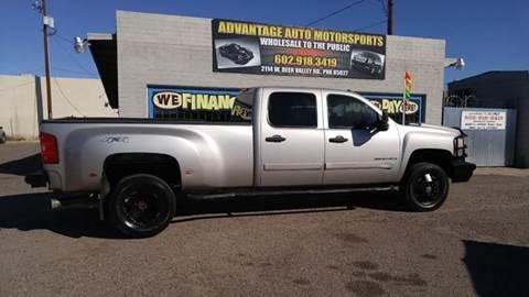 2008 Chevrolet Silverado 3500HD for sale at Advantage Motorsports Plus in Phoenix AZ