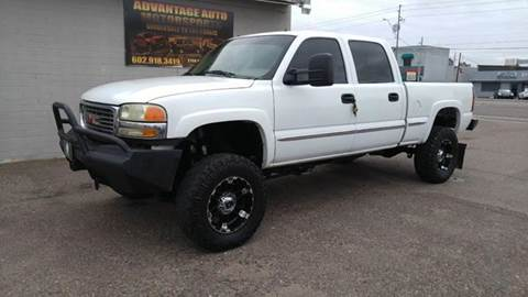 2002 GMC Sierra 2500HD for sale at Advantage Motorsports Plus in Phoenix AZ