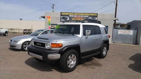 2007 Toyota FJ Cruiser for sale at Advantage Motorsports Plus in Phoenix AZ