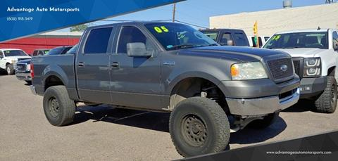 2005 Ford F-150 for sale at Advantage Motorsports Plus in Phoenix AZ