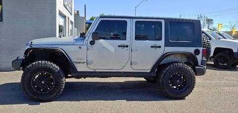 2009 Jeep Wrangler Unlimited for sale at Advantage Motorsports Plus in Phoenix AZ