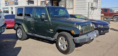 2008 Jeep Wrangler Unlimited for sale at Advantage Motorsports Plus in Phoenix AZ