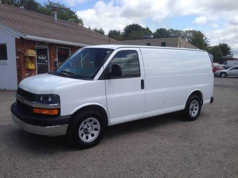 2013 Chevrolet Express Cargo for sale at J.W.P. Sales in Worcester MA