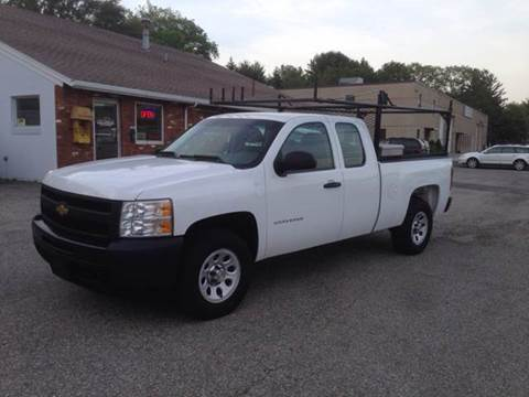 2011 Chevrolet Silverado 1500 for sale at J.W.P. Sales in Worcester MA