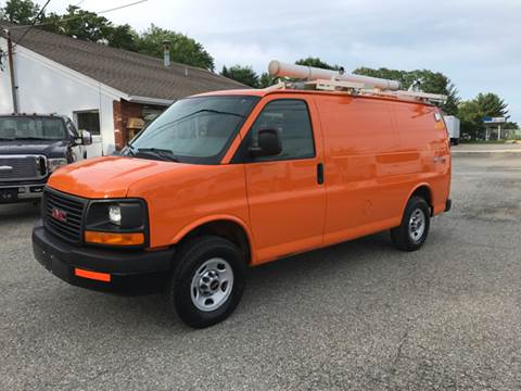 2011 GMC Savana Cargo for sale at J.W.P. Sales in Worcester MA