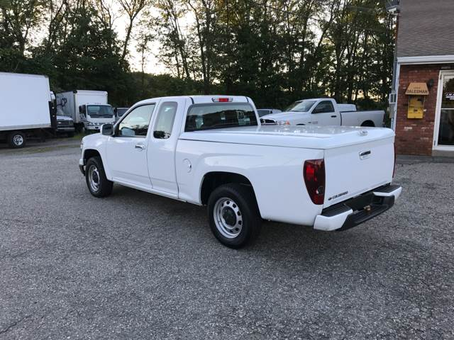 2012 Chevrolet Colorado 4x2 Work Truck 4dr Extended Cab - Worcester MA