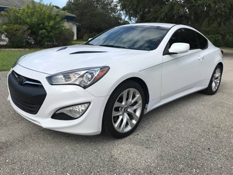 2014 Hyundai Genesis Coupe for sale at C W Motors in Bradenton FL