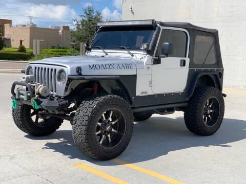 2006 Jeep Wrangler for sale at C W Motors in Bradenton FL