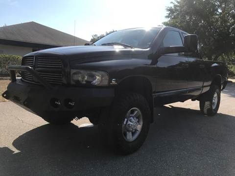 2004 Dodge Ram Pickup 2500 for sale at C W Motors in Bradenton FL