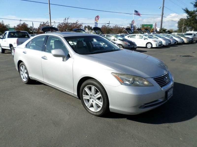 2007 LEXUS ES 350 BASE 4DR SEDAN silver one owner 2-stage unlocking doors ab