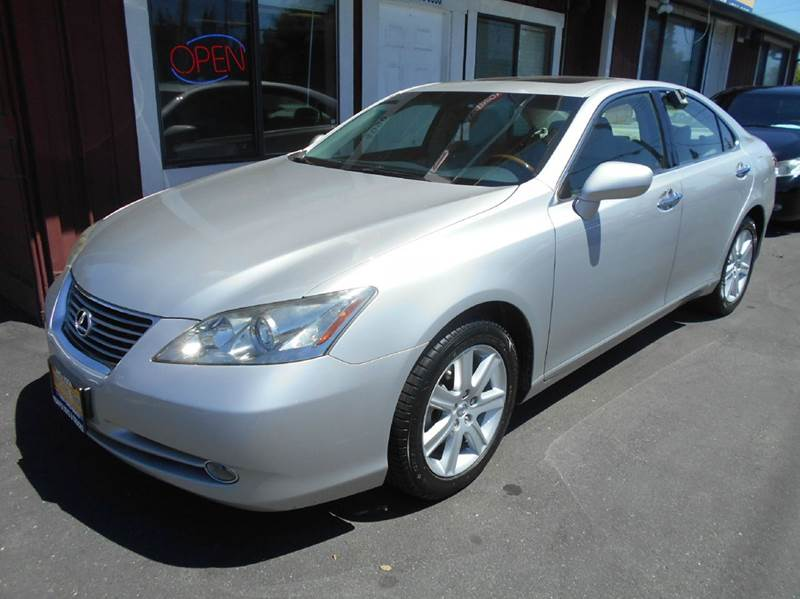 2008 LEXUS ES 350 4DR SEDAN silver one owner vehicle new tires 2-stage unlocking doors a