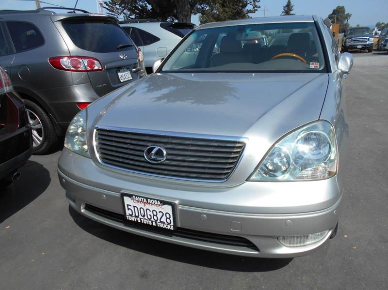2003 LEXUS LS 430 BASE 4DR SEDAN