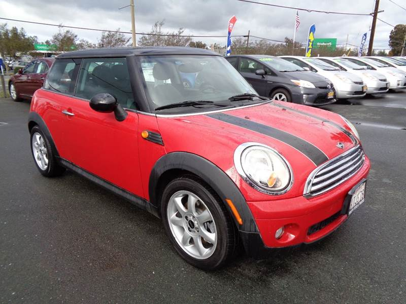 2007 MINI COOPER BASE 2DR HATCHBACK red one owner low mileage6sp manual 2-st