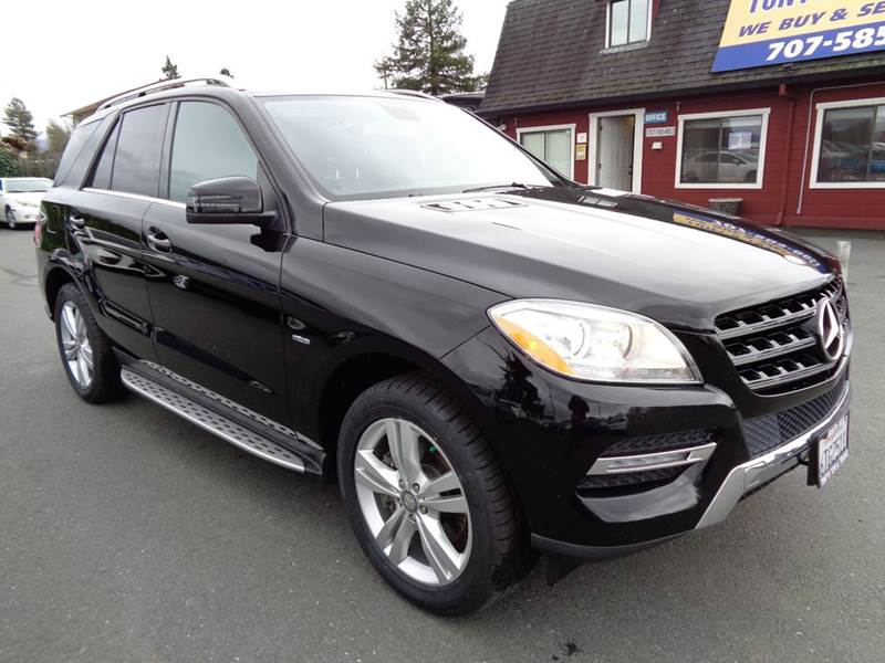 2012 MERCEDES-BENZ M-CLASS ML 350 AWD 4MATIC 4DR SUV black clean suv blue efficiency 1