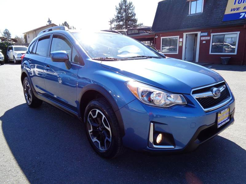 2016 SUBARU CROSSTREK 20I PREMIUM AWD 4DR CROSSOVER 5 blue one owner vehicle  2-stage unl