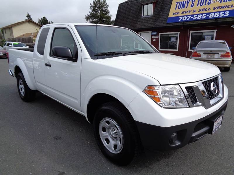 2016 NISSAN FRONTIER S 4X2 4DR KING CAB 61 FT SB PI white clean truck abs - 4-wheel active hea
