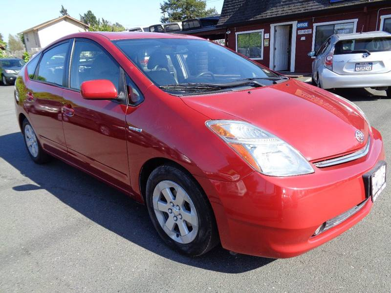 2007 TOYOTA PRIUS TOURING 4DR HATCHBACK maroon one owner vehicle grille color - chrome re