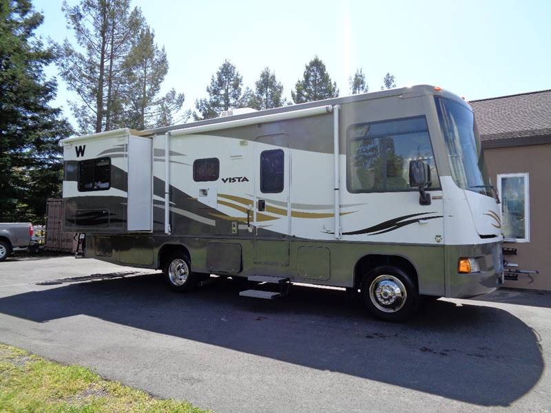 2010 WINNEBAGO VISTA SERIES M-26P white one owner only 7780miles 0 miles VIN 1F6LF
