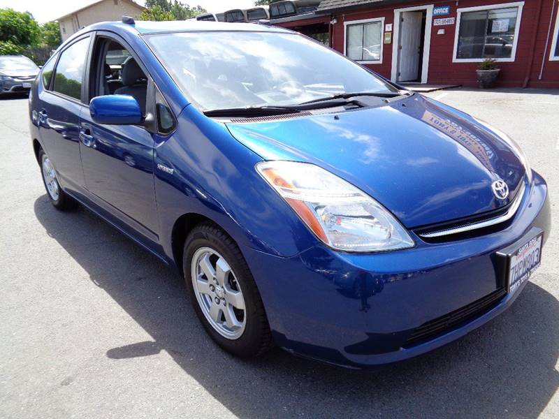 2009 TOYOTA PRIUS BASE 4DR HATCHBACK blue door handle color - body-color front bumper color - bo
