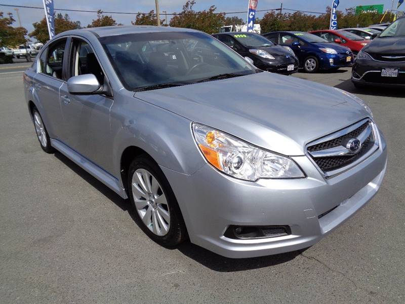 2012 SUBARU LEGACY 25I LIMITED AWD 4DR SEDAN CVT silver new tires door handle color - body-