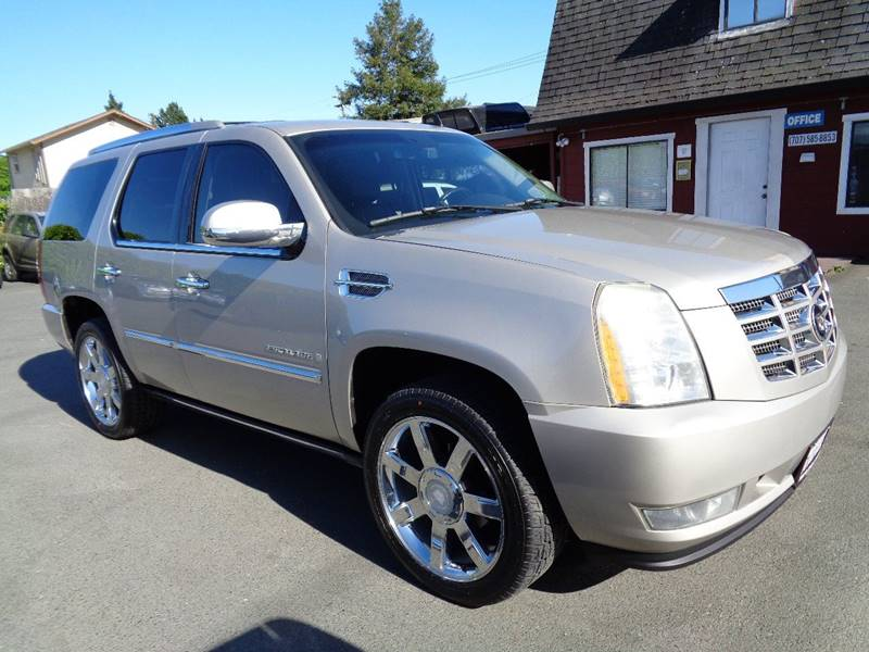 2007 CADILLAC ESCALADE BASE AWD 4DR SUV pewter captain chairs3rd row seating 7passbos