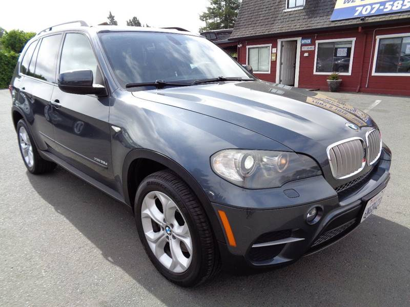 2011 BMW X5 XDRIVE35D AWD 4DR SUV gray one owner vehicle   turbo diesel exhaust - dual tip