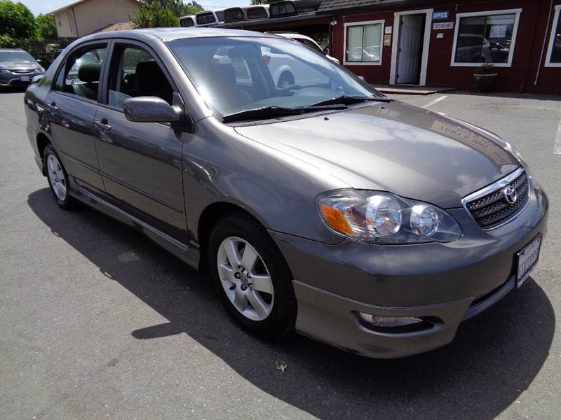 2006 TOYOTA COROLLA S 4DR SEDAN WAUTOMATIC silver clean sdn 2635mpg air filtration front