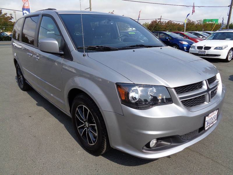 2017 DODGE GRAND CARAVAN GT 4DR MINI VAN gray one owner min-van stow-n-go seating leather