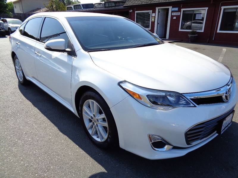 2014 TOYOTA AVALON XLE 4DR SEDAN white new tires exhaust - dual tip do