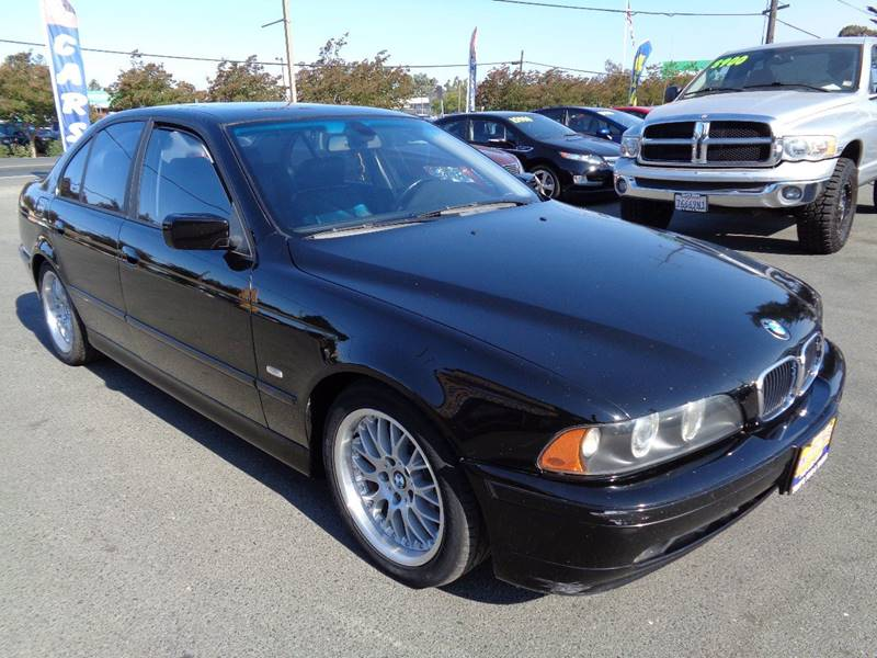 2002 BMW 5 SERIES 530I 4DR SEDAN black new tires front air conditioning front air conditio