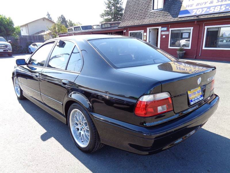 2002 BMW 5 SERIES 530I 4DR SEDAN