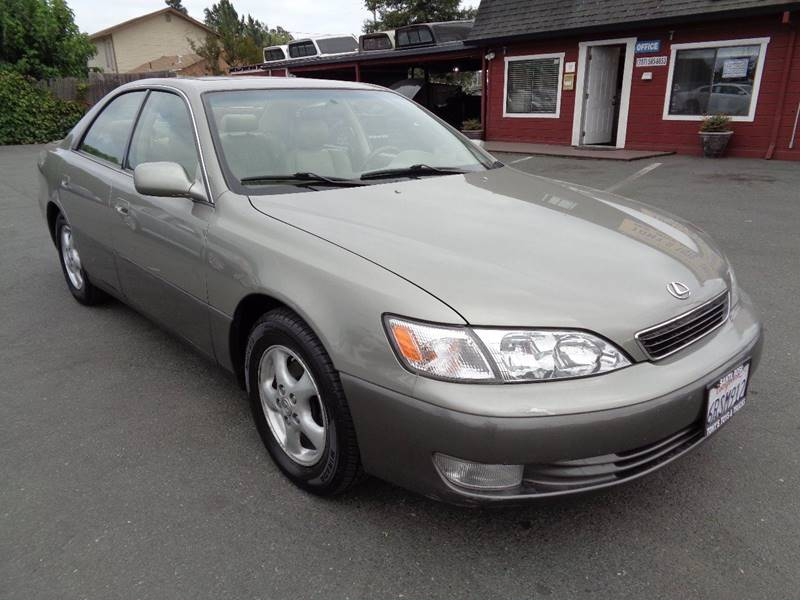 1997 LEXUS ES 300 BASE 4DR SEDAN gray new tiresclean vehicle front air conditioning fr