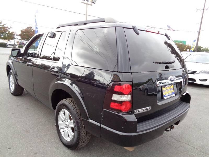 2010 FORD EXPLORER XLT 4X4 4DR SUV