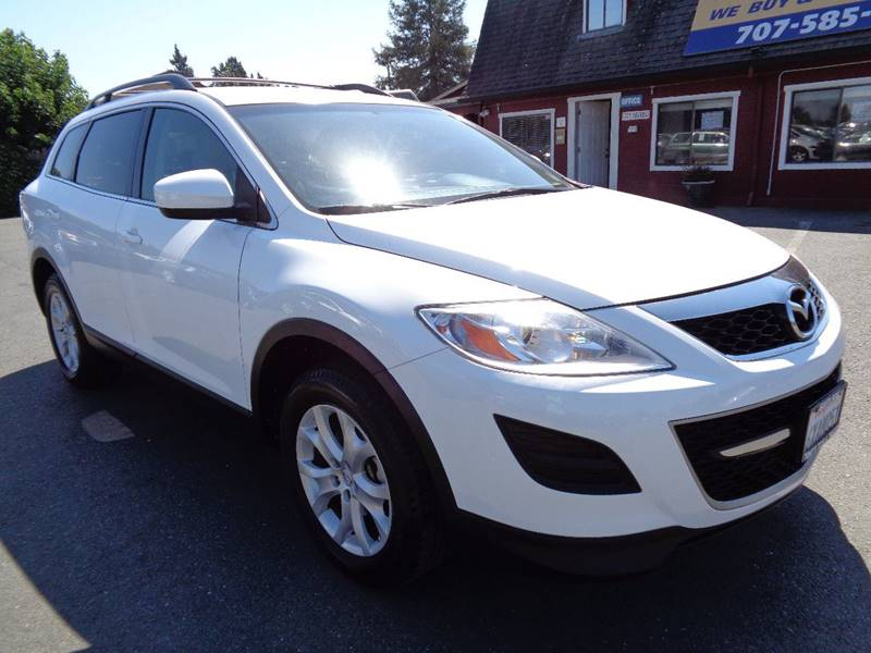2012 MAZDA CX-9 TOURING AWD 4DR SUV white 3rd row seating awd leather one owner