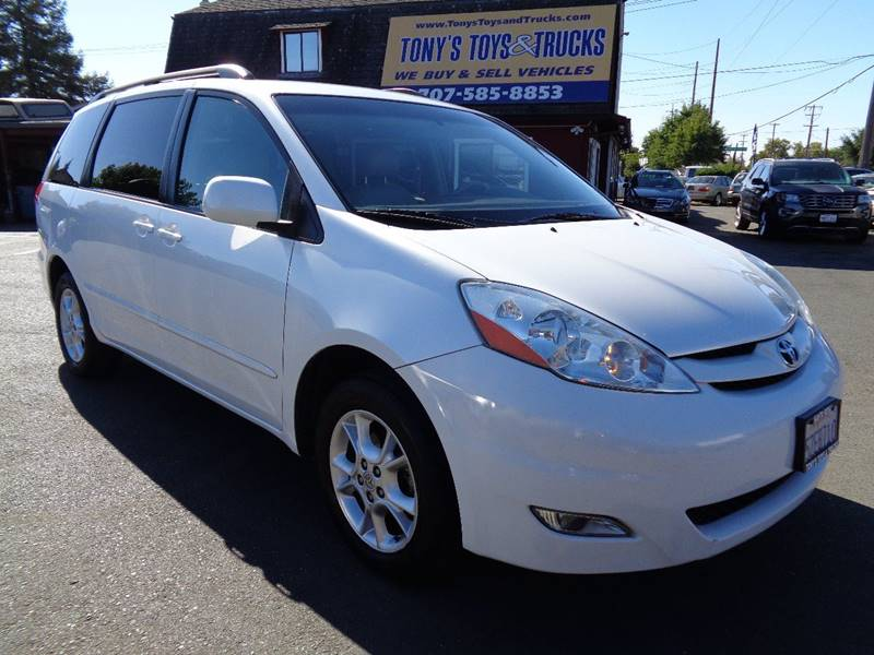 2006 TOYOTA SIENNA XLE 7 PASSENGER AWD 4DR MINI VAN white one owner mini-vanjbl audioti