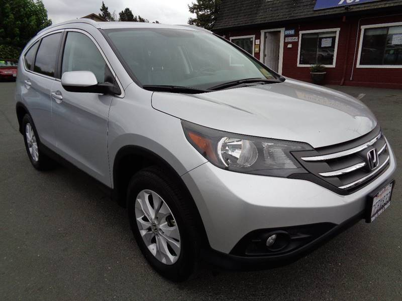 2014 HONDA CR-V EX L AWD 4DR SUV silver one owner vehicle awd door handle color - bo