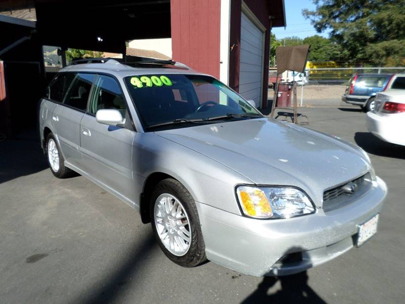 2003 SUBARU LEGACY L AWD 4DR WAGON silver front air conditioning center cons