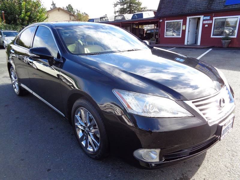 2010 LEXUS ES 350 BASE 4DR SEDAN black one owner vehicle new tires exhaust - dual tip mirro