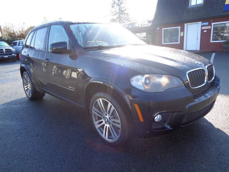 2011 BMW X5 XDRIVE35I SPORT ACTIVITY AWD 4DR blue one owner vehicle exha
