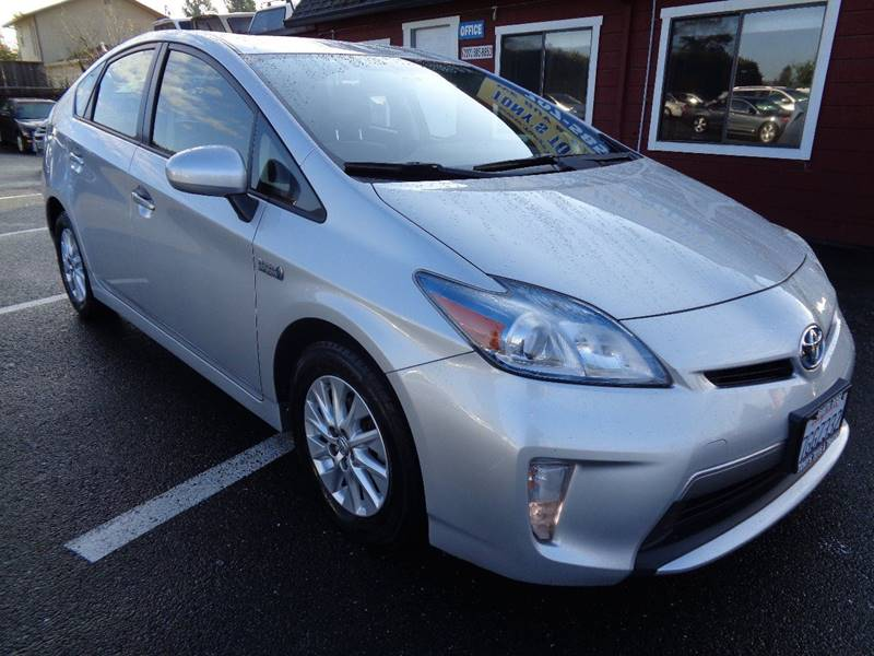 2014 TOYOTA PRIUS PLUG-IN HYBRID ADVANCED 4DR HATCHBACK silver one owner vehic