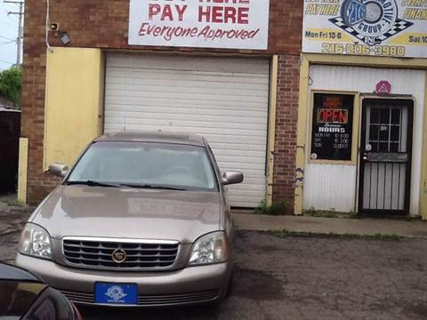 2003 Cadillac DeVille for sale at 216 Automotive Group in Cleveland OH