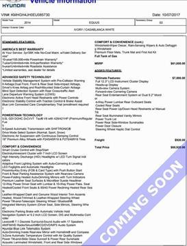 2014 Hyundai Equus for sale in Tupelo, MS