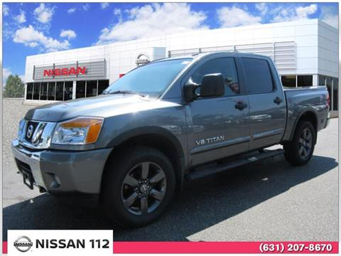 2015 Nissan Titan for sale in Patchogue, NY